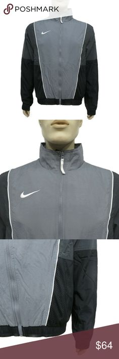 64a1a4c576e5 Nike Throwback Woven Basketball Mens Jacket AV6650-065 Nike Men s Throwback  Woven Basketball Jacket (Grey Anthracite Black) Country Region of  Manufacture  ...