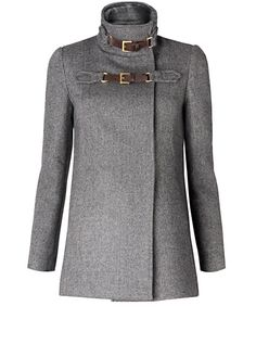 MANGO -  Wool Coat.  $109.00