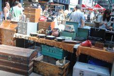 Old Spitalfields London antique flea market