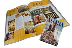 Asiana magazine features The RAAJ on a two page spread, highlighting our wonderful showroom. http://ow.ly/9gmh30bL9i0
