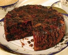 Dark Fruit Cake