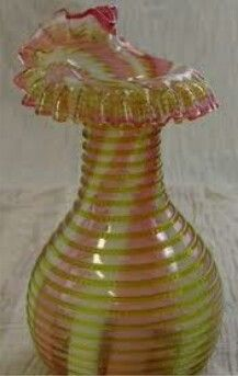Vtg Czech/bohemian Ruby Cut To Clear 10 Inch Vase Refreshing And Beneficial To The Eyes 155