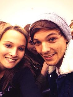 Louis Tomlinson and the luckiest human being