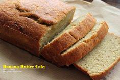 Amiliaya Recipe: Banana Butter Cake 香蕉牛油蛋糕