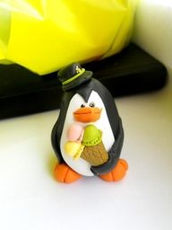 "polymer clay pinguin  ice cream"" data-componentType=""MODAL_PIN"