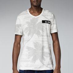G-Star RAW—Mate Palm T-shirt-Men-T-shirts