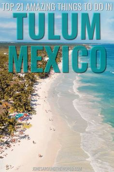 Planning a trip to Mexico and want to know the best things to do in Tulum? In the last couple of years, the scenic paradise of Tulum has become a Bohemian paradise famous for its hippy vibe and laidback lifestyle. Foodies, adventurers, history buffs, and global travelers enjoy everything Tulum has to offer. With outdoor adventures, water sports, and archaeological sites to be explored, you'll be kept on your toes discovering the unique jungles and dreamy beaches. #tulum #mexico #tulummexico Florida Vacation, Florida Travel, Mexico Travel, Gulf Coast Beaches, Stuff To Do, Things To Do, Beach Trip, Beach Vacations, Visit Mexico