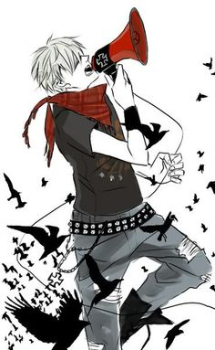 "Prussia ; reminds me of Avril L.'s music video ""Here's to Never Growing Up"""