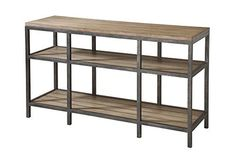 Stein World Furniture West Branch Sofa Table, Reclaimed Wood