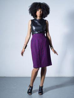Thandiwe pencil skirt by Tatusi