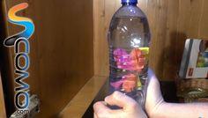Mini submarino casero para niños (Experimento)