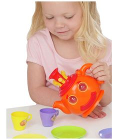 Buy Teletubbies Lights and Sound 11 Piece Tea Set at Argos.co.uk - Your Online Shop for Character playset and dolls, Cooking role play.