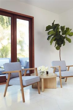 Navy Interior Design Los Angeles Office Vintage Albini Chairs With Cashmere Upholstery Modern