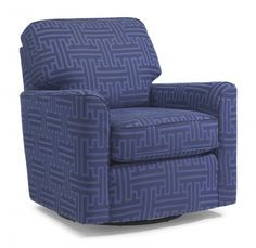 Darby Fabric Swivel Glider by #Flexsteel via Flexsteel.com