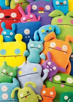 ¿Os gustan los monstruitos? Pues este puzzle de 1000 piezas de la marca Heye os va a encantar :)