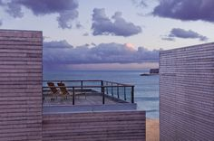 Gaze upon the setting sun from your very own terrace at the Martinhal Resort in Portugal.