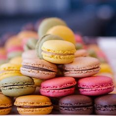 I love the colors of a nice pile of macaroons #VRCWine #Food #Travel #FoodTravel