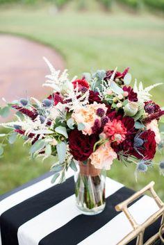 Autumnal Vineyard Wedding Inspiration | Cathy Durig Photography | We Tie The Knots | Bridal Musings Wedding Blog 12