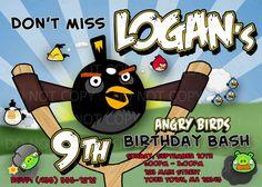 angry birds invite