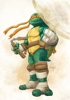 TMNT - Michelangelo by Tristan Jones and Mike Spicer