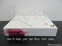 Buzz Wire Game #Shop with Energizer Batteries
