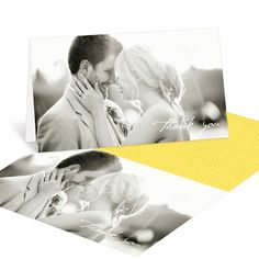 Photo wedding thank you cards from @peartreegreet #wedding #weddingthankyoucards #peartreegreetings