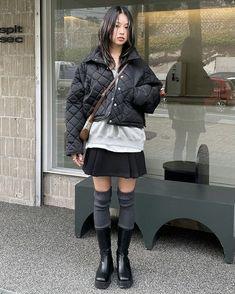 Grunge Fashion, 90s Fashion, Korean Fashion, Fitness Fashion, Love Fashion, Fashion Outfits, Pretty Outfits, Cool Outfits, Harajuku
