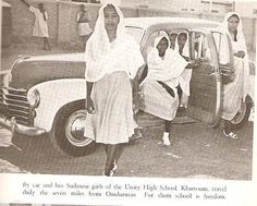 Sudani girls of Unity High School  Unity High School, founded in 1928, but with roots going back to 1902, is an independent school in Khartoum, Sudan, which uses the English language and provides a British-style education to children from 4 to 18 years of age.