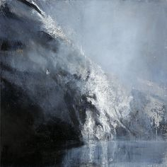 'Skjoldungen' by Norwegian painter Ørnulf Opdahl 170 x 170 cm. via Galleri Haaken Picasso Paintings, Seascape Paintings, Winter Painting, Landscape Artwork, Art For Art Sake, Anime Comics, Beautiful Paintings, Art Studios, Installation Art