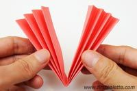 Step 5 Accordion Paper Flowers