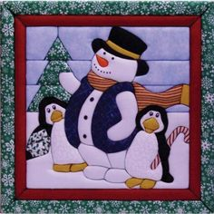 "Winter Fun Quilt Magic Kit-12""X12"": Amazon.co.uk: Kitchen & Home"