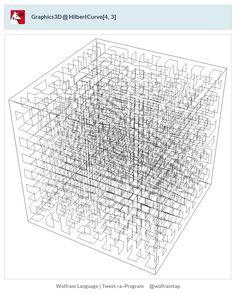 Graphics3D@HilbertCurve[4,3]