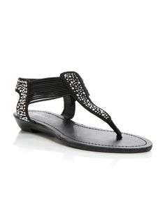 4facac640ee Madden Girl Tanduum Diamante Thong Flat Sandals