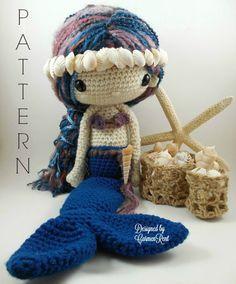 Sabrina++Amigurumi+Doll+Crochet+Pattern+por+CarmenRent+en+Etsy
