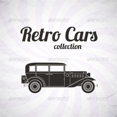 Retro Car Collection  #GraphicRiver         Retro car, vintage collection, classic garage sign, vector illustration background, can be used for design, invitations card, infographics  -Editable EPS10, AI vector format -Hi-Res Render in JPG format 7000×7000 -layered PSD 7000×7000      Created: 23October13 GraphicsFilesIncluded: PhotoshopPSD #JPGImage #VectorEPS #AIIllustrator Layered: Yes MinimumAdobeCSVersion: CS Tags: art #auto #automotive #car #classic #collection #coupe #design #drive…