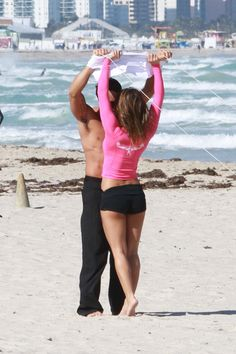 EXCLUSIVE: LOLA PONCE, AARON DIAZEXCLUSIVE: Lola Ponce with her new boyfriend Aaron Diaz in Miami Beach