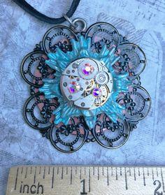 Star Burst Necklace by RetroHippieUnlimited on Etsy