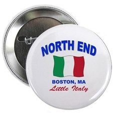 """North End Boston,MA 2.25"""" Button for"""