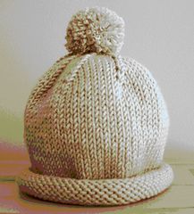 Baby Hat Knitting Patterns Free, Baby Hat Patterns, Baby Hats Knitting, Free Knitting, Knitted Hats, Knit Patterns, Crochet Pattern, Free Pattern, Knitting Projects