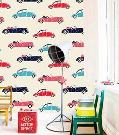Papel de Parede   - Infantil Car Luxo