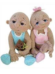 So Cute Baby doll crochet pattern for dolls and accessories