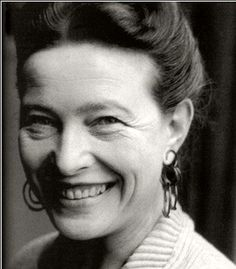 Simone de Beauvoir (1908–1986), a French existentialist philosopher, public intellectual, political activist, feminist theorist and social theorist. She and Jean Paul Sartre were life-long partners, though they never married and had no children. She was able to get an advanced academic degree, to join political causes and to travel, write, teach, and to have (both male and female – the latter often shared with Sartre) lovers.