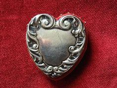 RARE mère magnifique de pelote à épingles perle coeur Victoria II sur Etsy, 95,34€