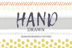 Whimsical Inky brushes!  by utro_na_more on @creativemarket