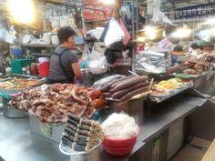 korea style food  market