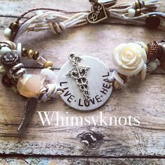 Personalized, Hand-Stamped Jewelry  This charm and stamping can be customized for you Or a special nurse in your life & it is a great way to show