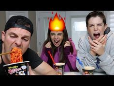 THIS IS NOT SAFE!! | Korean Fire Noodle Challenge - YouTube