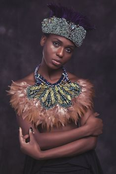 Anita Quansah Printemps/Eté 2014 |L'Entre-Deux by FASHIZBLACK.com