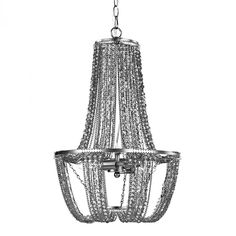Mini Chandelier In Tea Stained And Metallic : 43X9Z | Light Expressions By Shaw, Inc.