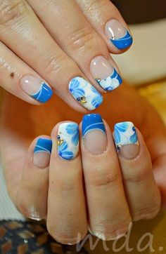 I want to try this sometime! It would be interesting to see how it would actually turn out! I especially like the stickers that are on the nails to make a more pretty pop out design!
